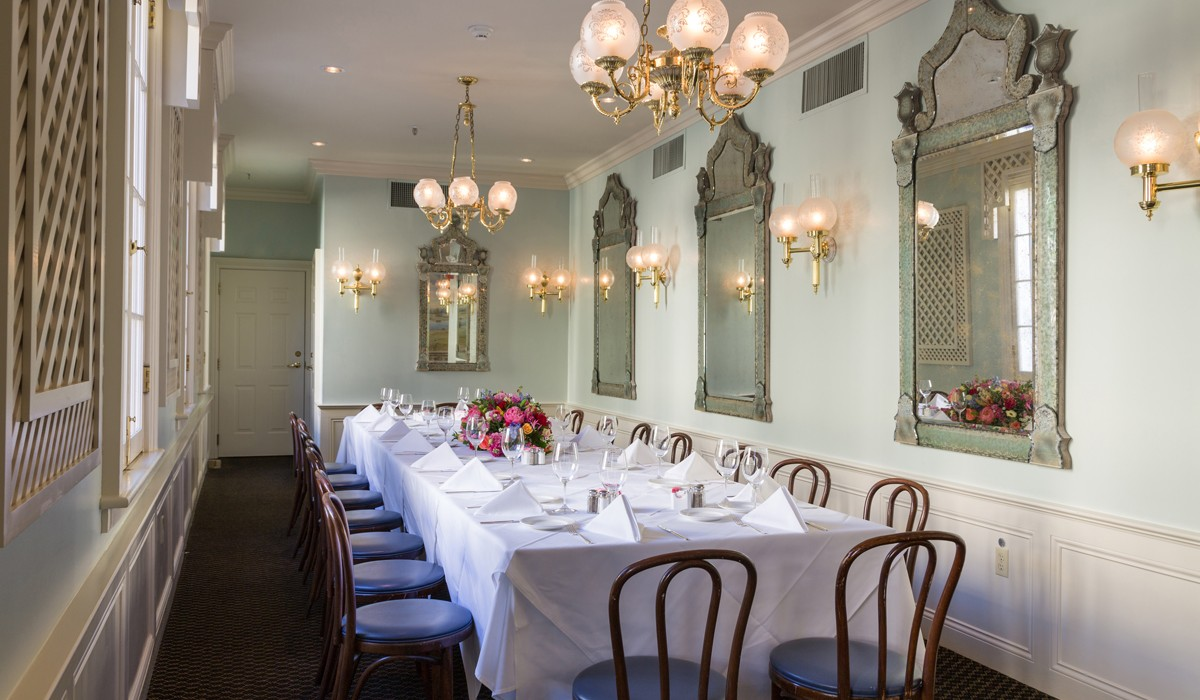 Romantic New Orleans Private Dining Rooms