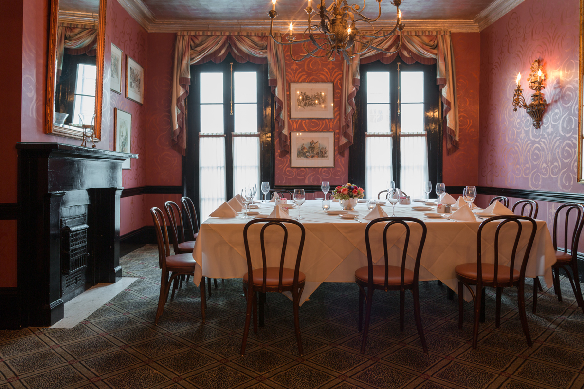Genial Classic New Orleans Private Dining