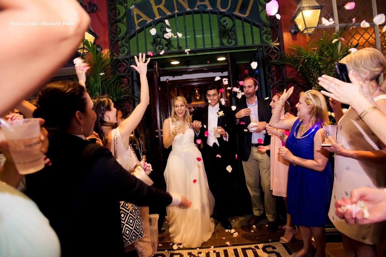 New Orleans Destination Wedding French Quarter Restaurant Venue