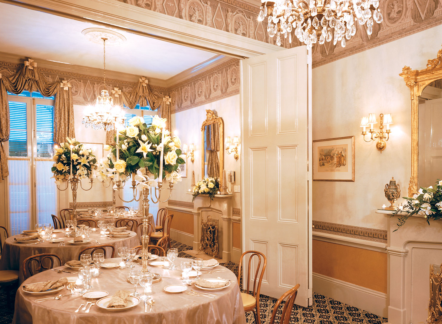 Arnaud S Romantic Dining Rooms Private Dining New Orleans