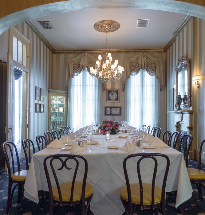 Private Dining Room Set: New Orleans Private Dining