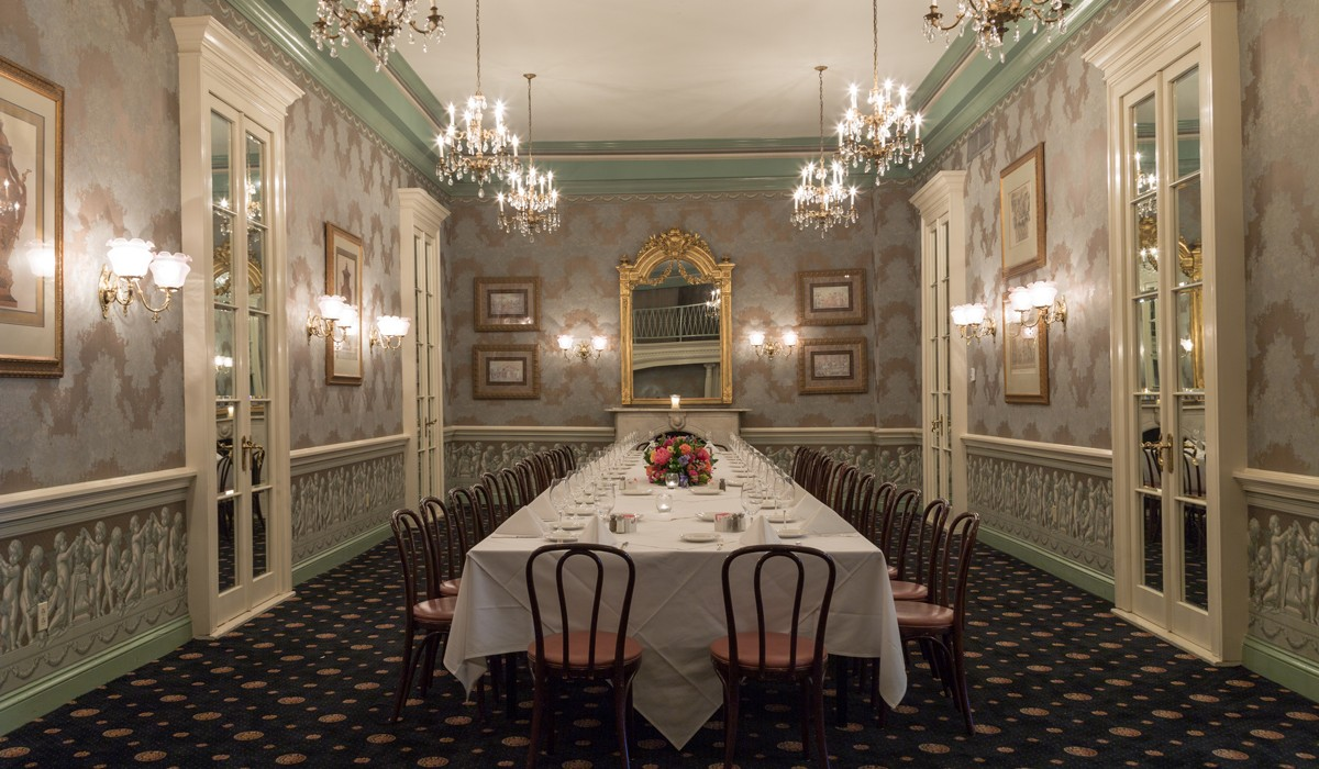 Classic New Orleans Dining Rooms
