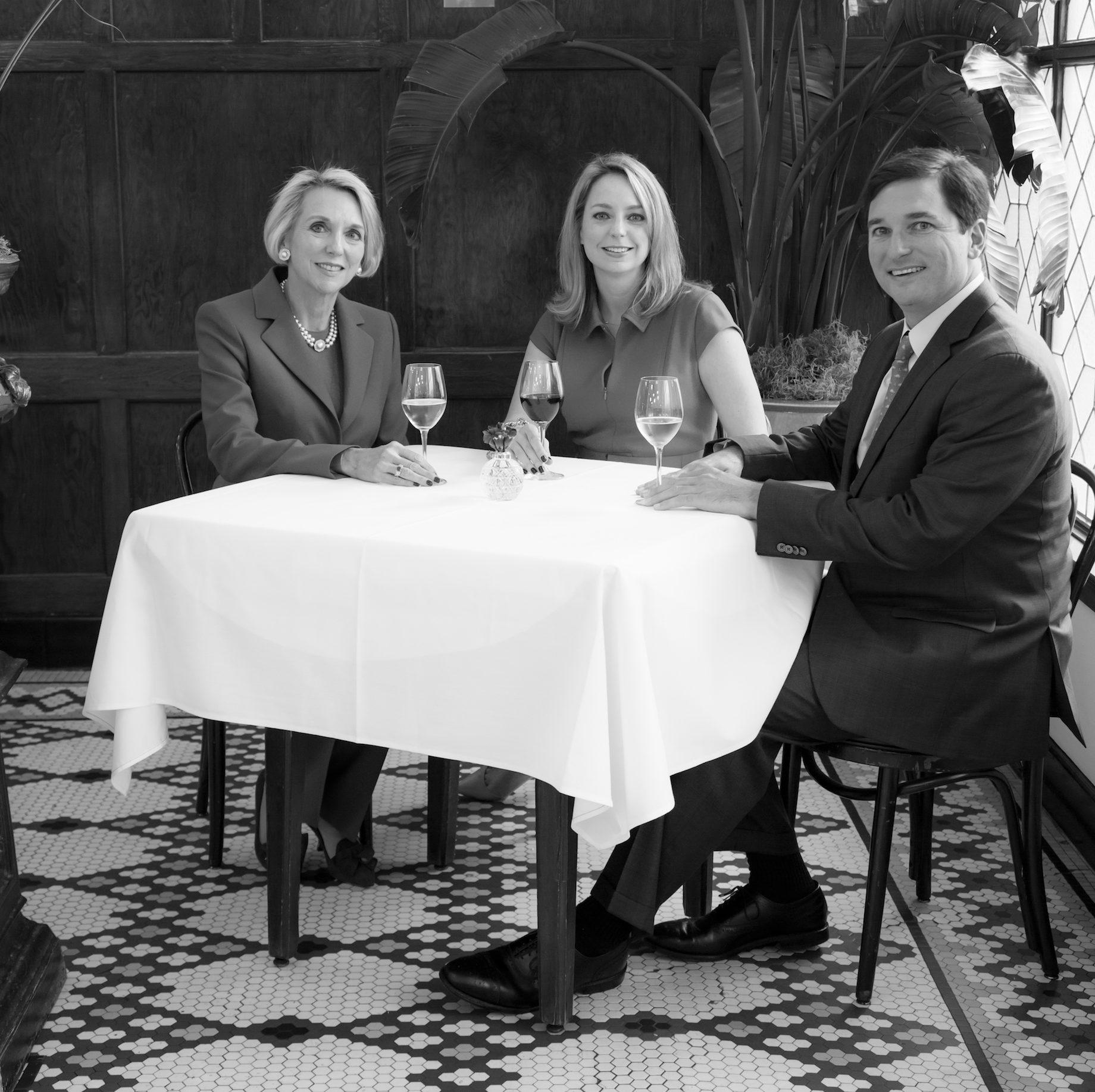 Jane, Katy & Archie Casbarian, Jr. - Arnaud's Restaurant