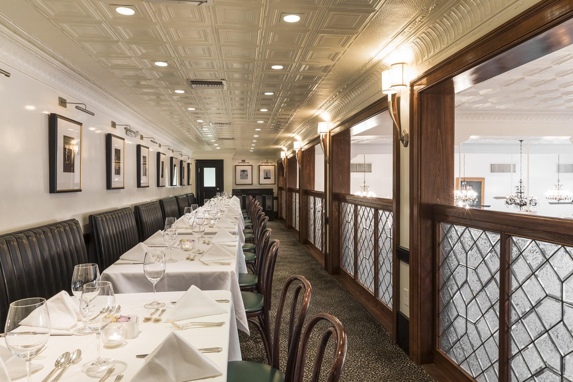 Semi-Private Dining New Orleans | Mezzanine Room